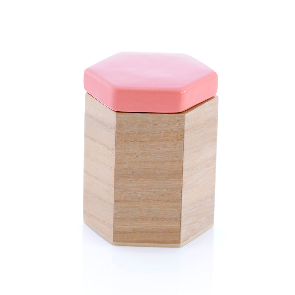 Large Hexagon Trinket Box