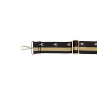 Black & Gold Crossbody Strap