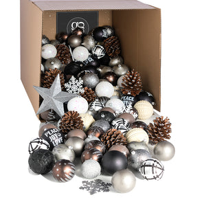 The Rustichic Ornament Collection - 180 pieces/100 pieces