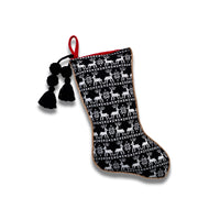 Reindeer Print Stocking