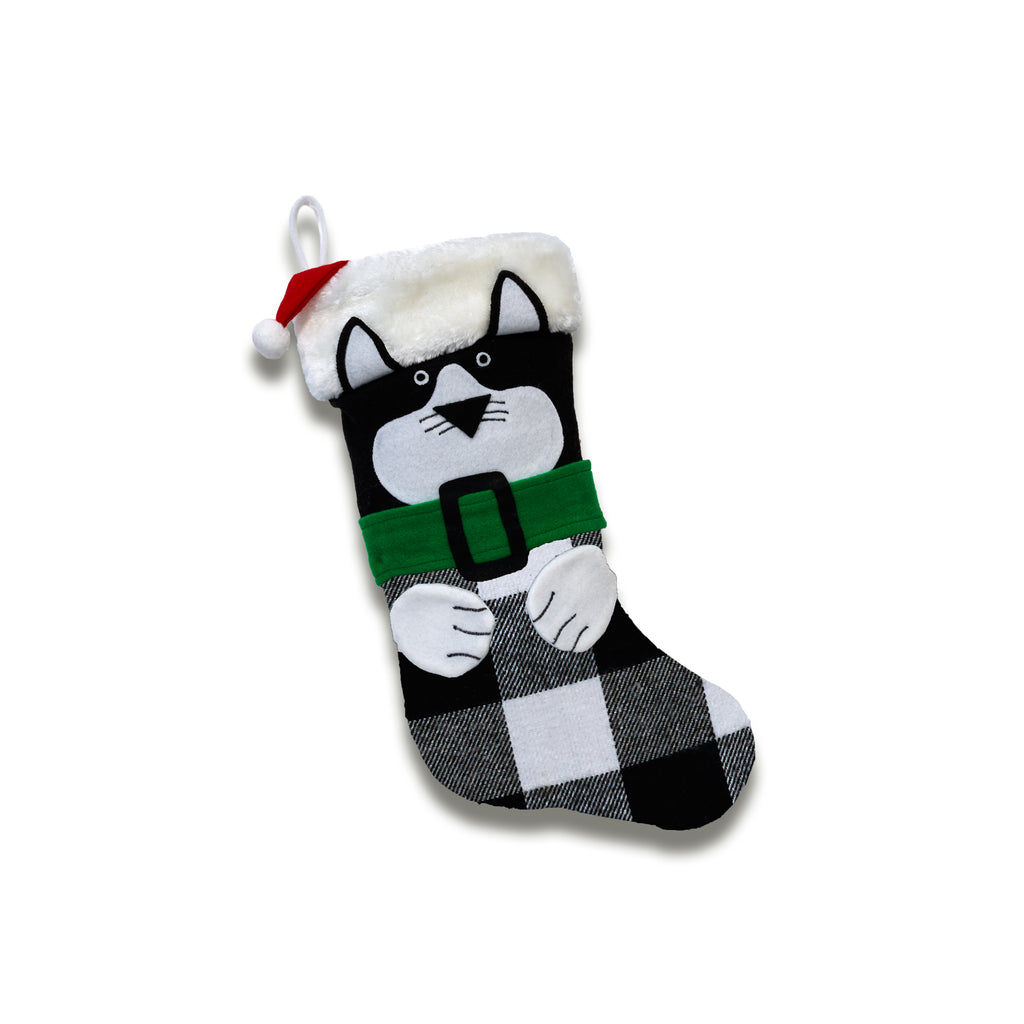 Our Curious Kitty Stocking