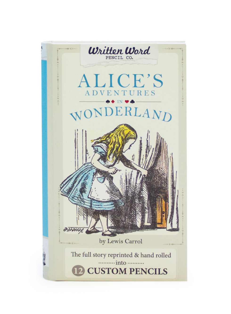 Classic Story Pencils - Alice's Adventures In Wonderland