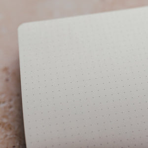 THE MINIMALIST: ORANGE A5 DOT GRID NOTEBOOK