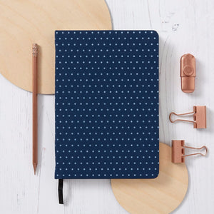 Dotted Notebook | Dot grid - Blue