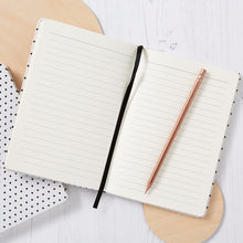 Dotted Notebook - White