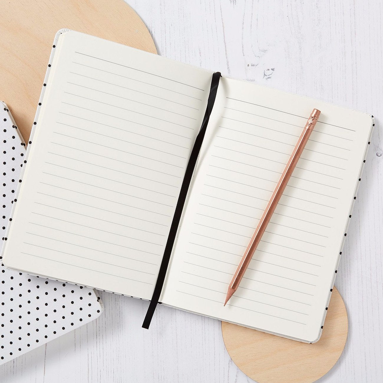 Dotted Notebook - Grey