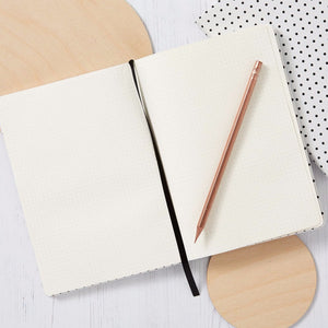 Dotted Notebook | Dot grid - White