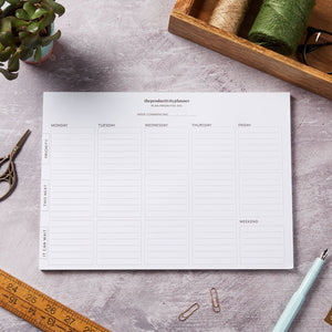 A4 productivity planner desk pad