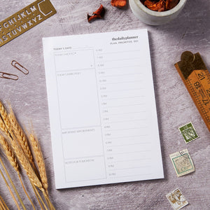 The Daily Planner - A5 White