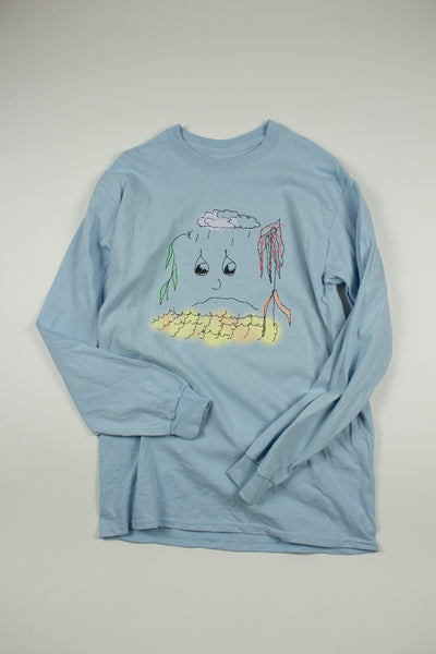 """Poor Planet"" Longsleeve - information-eater"