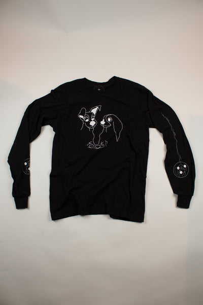 """The Real Fantasia"" Longsleeve - information-eater"