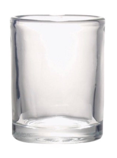 ROUND CLEAR VOTIVE CANDLE HOLDER