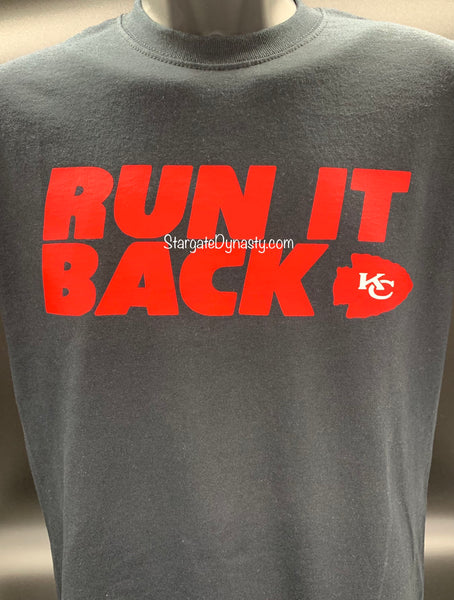 RUN IT BACK KC V3   T-SHIRT