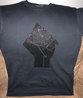 BLACK POWER FIST T-SHIRT