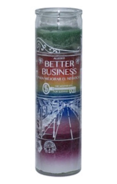 BETTER BUSINESS 7 DAY CANDLE 7 COLORS