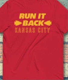 RUN IT BACK KANSAS CITY V4  T-SHIRT