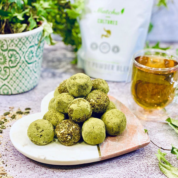 Matcha Energy Balls - By Sabina