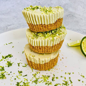 NO BAKE LIME CHEESECAKE TARTS - By Sabina