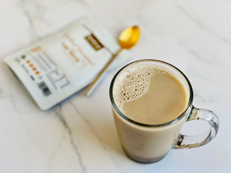 Simple Salted Caramel Latte - By Sabina