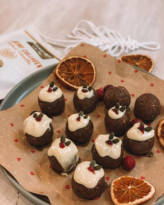 Festive Vanilla Collagen balls - By Dalmie