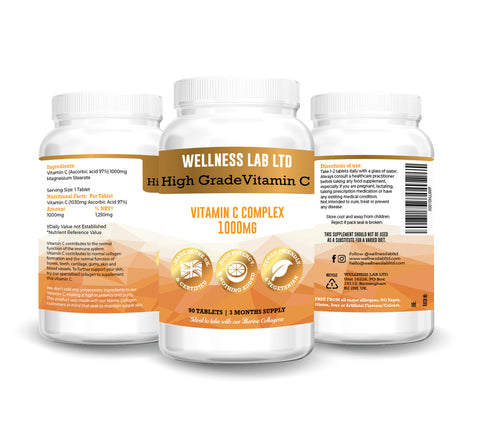 vegan vitamin c collagen wellness lab