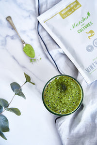 Probiotic Matcha Latte (minty & mighty)