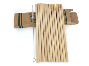 Bamboo Straws - Wellness Lab Ltd