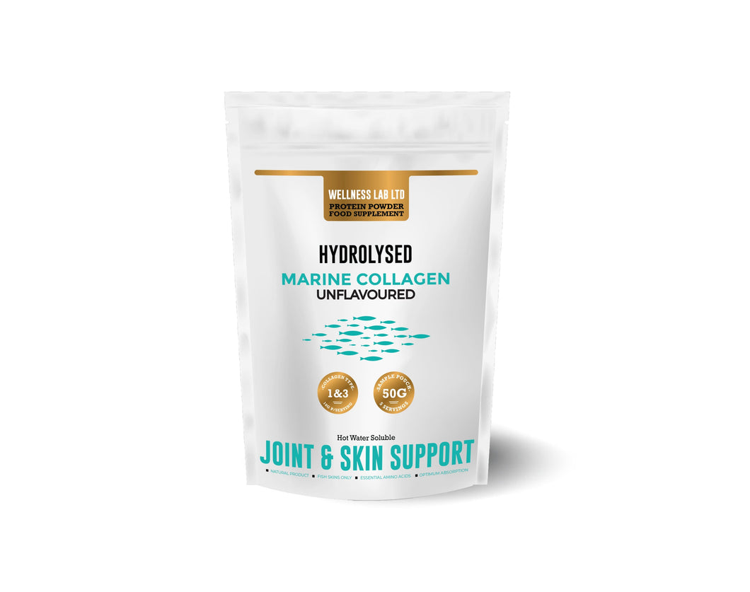 Marine Collagen (Same as Tub) 50g Sample - Wellness Lab Ltd