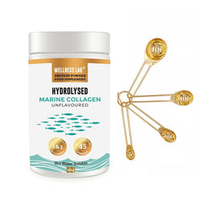 Marine Collagen Tub & Gold Scoops - Wellness Lab Ltd
