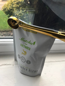 Golden Scoop with Clip | For Pouches - Wellness Lab Ltd