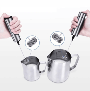 Milk Frother for Latte & Cappuccino - Wellness Lab®