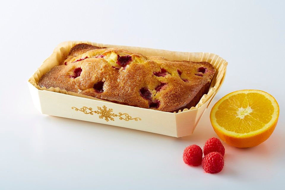 Gluten Free - Cake - Orange Raspberry - Mini - 3x5