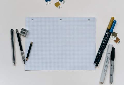 Graph paper and drawing tools