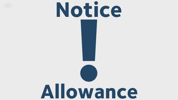 Notice Allowance