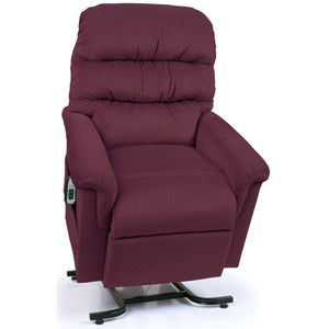 UltraComfort Montage UC542-JPT Petite Lift Chair Recliner - Ruby (White Glove Delivery)-Petite Three Position Lift Chair-Ultra Comfort America-In-Stock - Standard w/No Custom Options-Freedom Lift Chairs