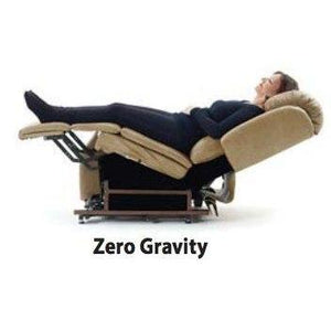 UltraComfort UC550-M Stellar Comfort Medium Scale Zero Gravity Lift Chair - Granite (White Glove Delivery)