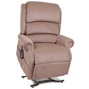 UltraComfort Stellar Comfort Petite Zero Gravity Lift Chair UC550 - JPT - Almond (White Glove Delivery)-Petite Zero Gravity Lift Chair-Ultra Comfort America-In-Stock - Standard w/No Custom Options-Freedom Lift Chairs