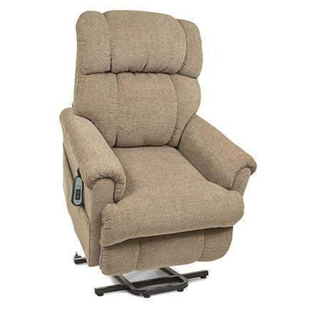 UltraComfort Tranquility UC544-M Medium Scale Space Saver Lift Chair - Sandstorm (White Glove Delivery)-Three-Position Space Saving Lift Chair-Ultra Comfort America-In-Stock - Standard w/No Custom Options-Freedom Lift Chairs