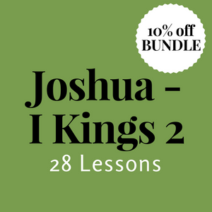 Joshua-I Kings 2