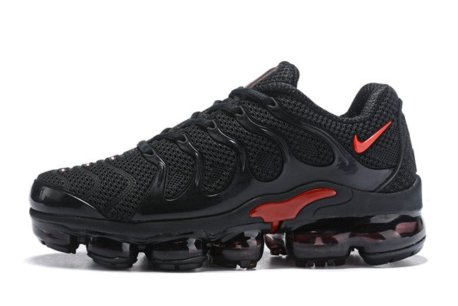 low priced 2b3f9 ba891 Men's Nike VaporMax Plus Black/Red