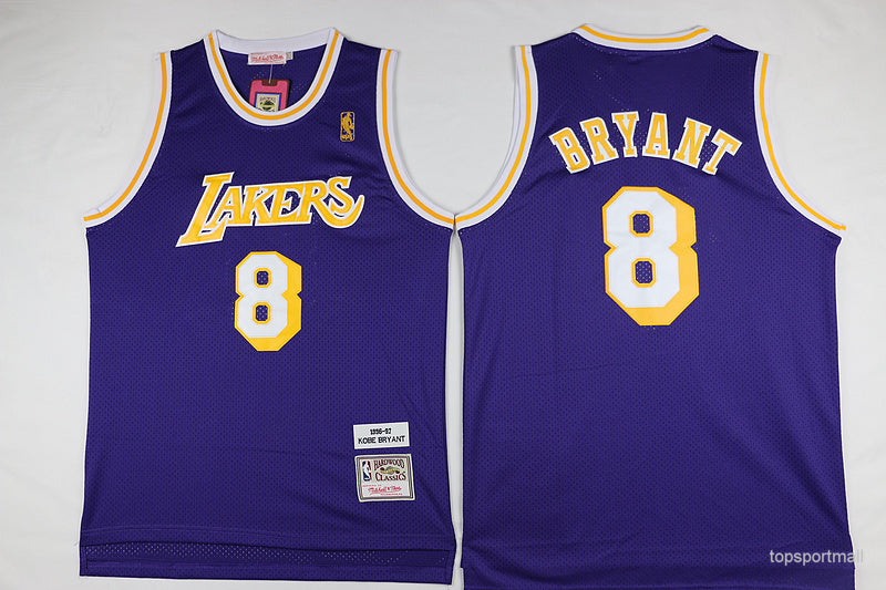 the best attitude 45d33 fe50f Lakers Purple Bryant Jersey 8