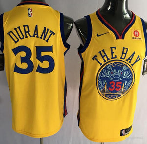 low priced 37e33 3bbb0 Golden State Warriors Kevin Durant The Bay Jersey