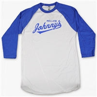 Baseball Johnny White Tee