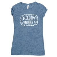 Mj's Buckle Women's t-shirt (blue)