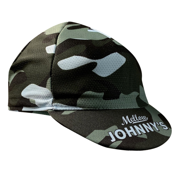 MJ's Camo II Cycling Cap