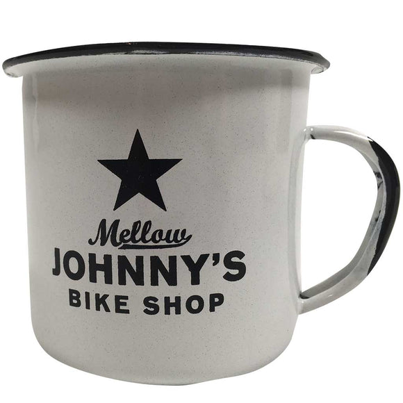 Mellow Johnny's Campfire Mug (white)