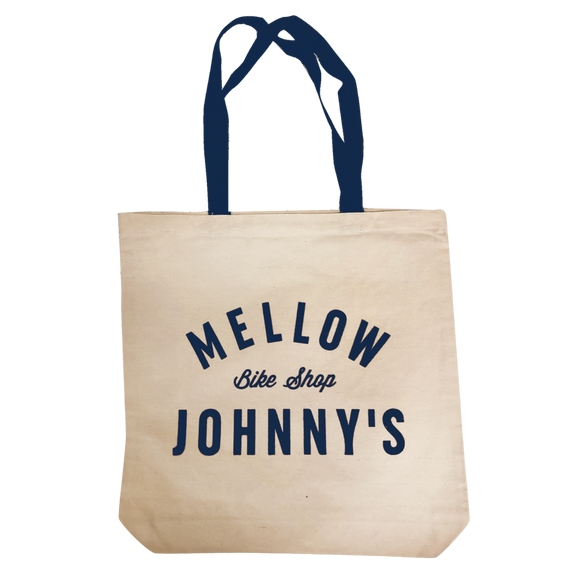 Mellow Johnny's Bike Shop Canvas Tote Bag