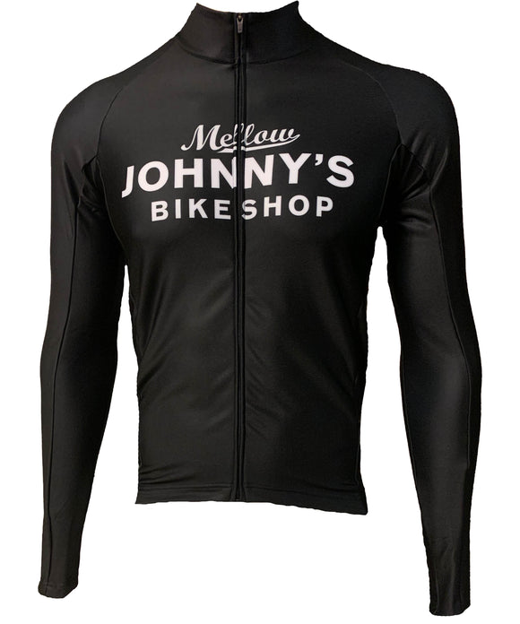 MJ's Classic Long Sleeve Shop Jersey (black and white)