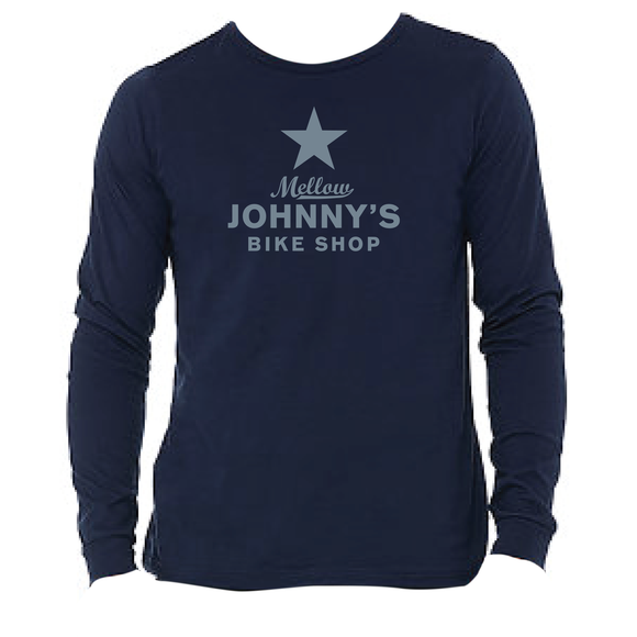 Mellow Johnny's Long Sleeve Tee - Navy