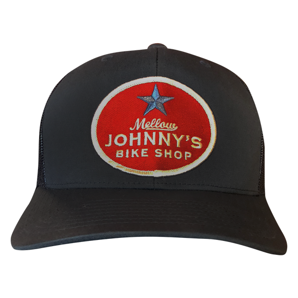 Patch Snapback Trucker Hat-Navy